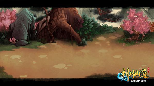 横版rpg类型的仙侠题材的网页游戏《神仙道》主题壁纸